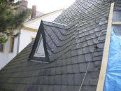 Stadtkirche Limbach-Oberfrohna - Reparaturarbeiten nach dem