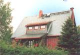 Schieferdeckung eines Einfamilienhauses in Hartmannsdorf